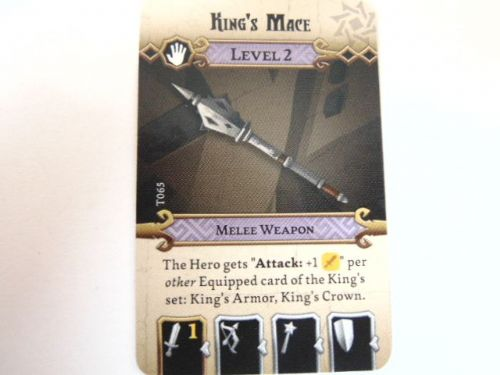 md - l2 treasure card (kings mace)